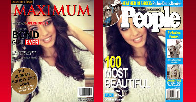 Tú en las portadas de las revistas
