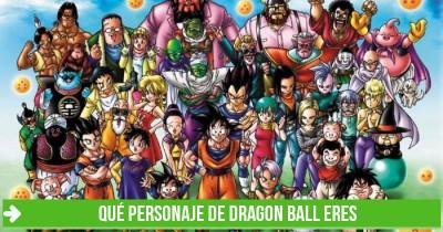 Qué personaje de Dragon Ball eres