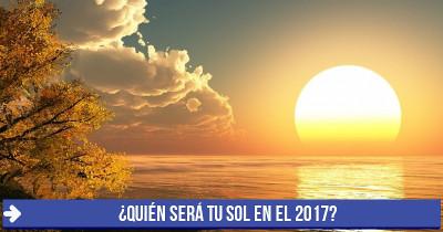 ¿Quién será tu sol en el 2017?